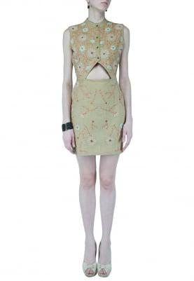 Triangle Mud Dress