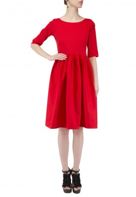 Ruby Gathered Empire Dress