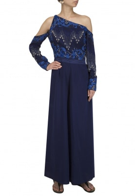 Dark Blue Jump Suit