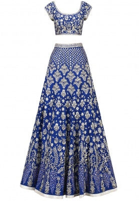 Royal Blue Lehenga Set