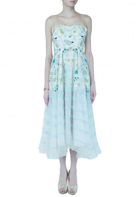 Ivory Enchanted Garden Dress