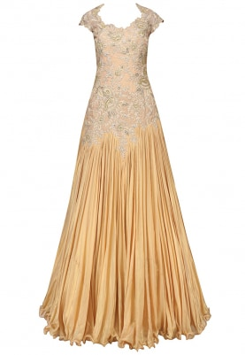 Shimmer Gold Gown