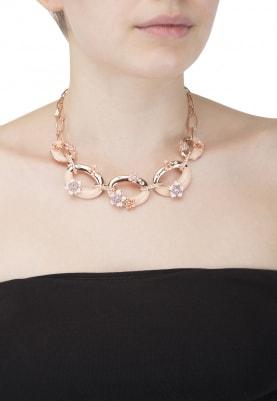 Rose Gold Plated Swarovski Crystals Necklace