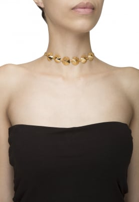 Gold Finish Ararat Choker
