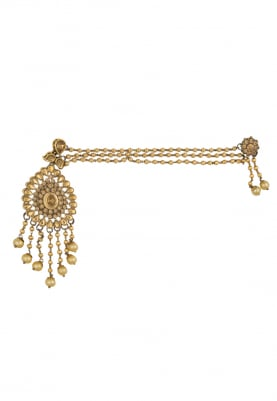 Gold Plated Kundan and Meenakari Work Necklace