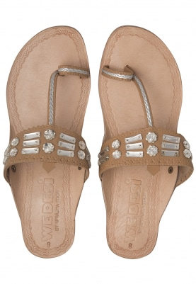 Nude Diamonds and Beads Embellished Almas Box Heel Sandals