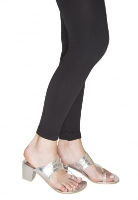 Silver Dori Work Kolhapuri Wedges